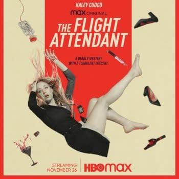 The Flight Attendant key art (Image: HBO Max)