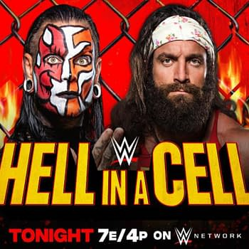 WWE Hell in a Cell – Jeff Hardy Disqualifies Himself to Send a Message