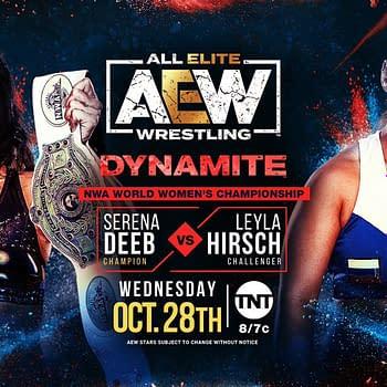Thunder Rosa WWE Bound Drops NWA Title to AEWs Serena Deeb