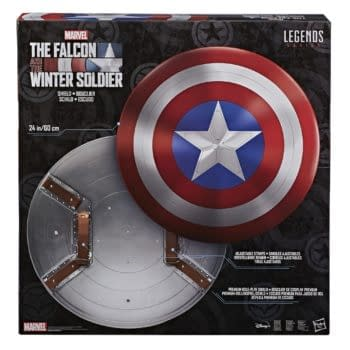 The Falcon and Winter Soldier Shield Revealed by Hasbro