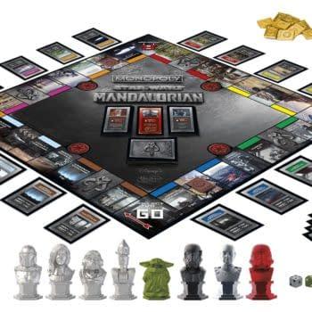 The Mandalorian Monopoly Includes Retro Stromtrooper Figure