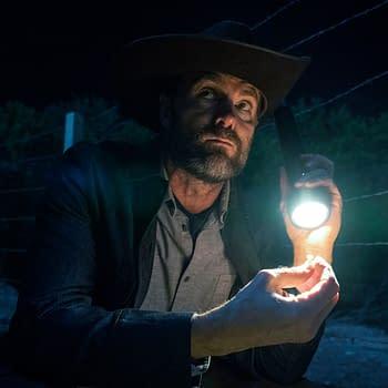 Garret Dillahunt as John Dorie - Fear the Walking Dead _ Season 6, Episode 4 - Photo Credit: Ryan Green/AMC - Fear the Walking Dead _ Season 6, Episode 4 - Photo Credit: Ryan Green/AMC