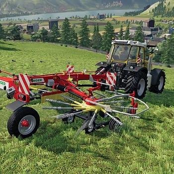 Farming Simulator 19 Shows Alpine Farming Expansion Map & Vehicles