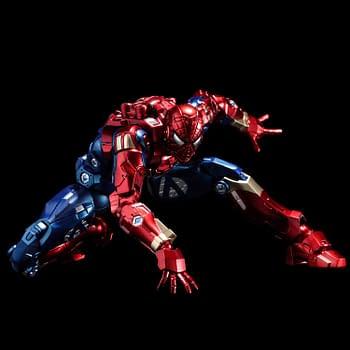 Spider-Man Joins Sentinels Fighting Armor Figure Line