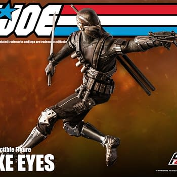 GI Joe Snake Eyes Goes 12 With Hasbro and Threezero