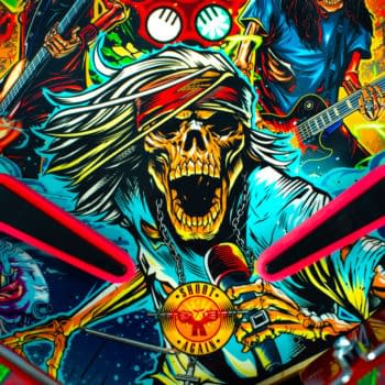 Guns N' Roses Now Has A New Pinball Game On The Market