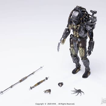 Two New Predators Revealed by Hiya Toys from AVP and Predators