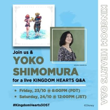 Square Enix Will Host Kingdom Hearts Live Q&A With Yoko Shimomura