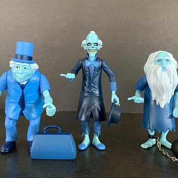 Foolish Mortals Lets Check Out Super7s Haunted Mansion Figures
