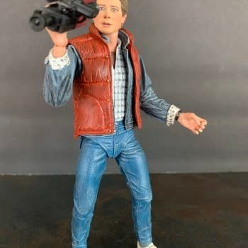 Let's Take A Look At NECA's Back To The Future Marty Figure