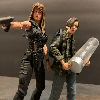 Lets Take A Look At NECAs Terminator 2 Sarah &#038 John Connor Set