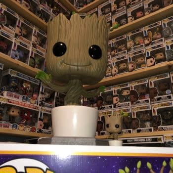 Groot Stands Tall with Newest Pop Addition from Funko