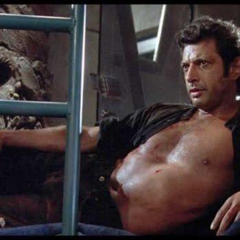 Jurassic World: Jeff Goldblum Recreates Iconic Side Pose