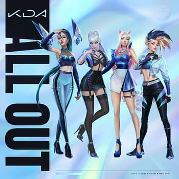 Riot Games Reveals New Look &#038 EP Cover For K/DA