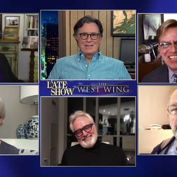 The West Wing Mini-Reunion Set for The Late Show with Stephen Colbert