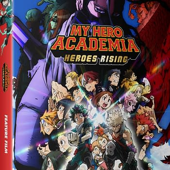 My Hero Academia: Heroes Rising Blu-ray Out October 27th