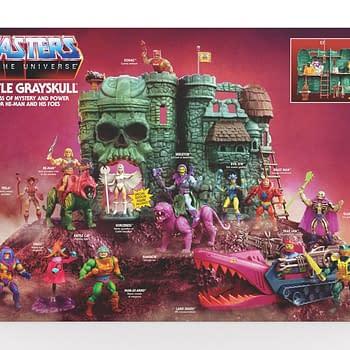 Masters of the Universe Castle Grayskull Play Set Returns from Mattel