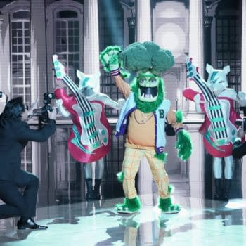 THE MASKED SINGER: Broccoli in the ÒThe Group C Premiere - Masked But Not LeastÓ episode of THE MASKED SINGER airing Wednesday, Oct. 28 (8:00-9:00 PM ET/PT) on FOX. © 2020 FOX MEDIA LLC. CR: Michael Becker/FOX.