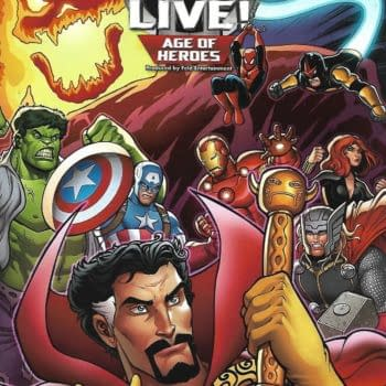 Marvel Universe LIVE! Age Of Heroes Prequel #2 Front Cover