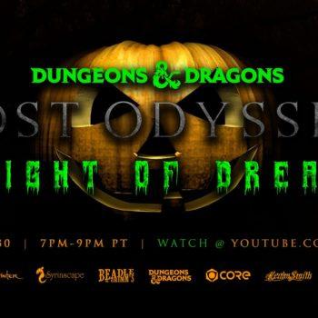 Lost Odyssey Announces Matthew Lillard Halloween D&D Charity Game