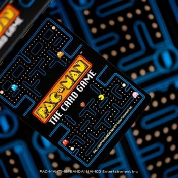 Pac-Man Card Game By Steamforged Games' Solicitation Released