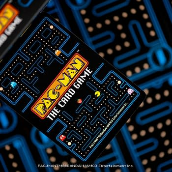 Pac-Man Card Game By Steamforged Games Solicitation Released