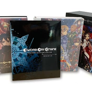 Yen Press Unveils Sword Art Online Platinum Collectors Edition