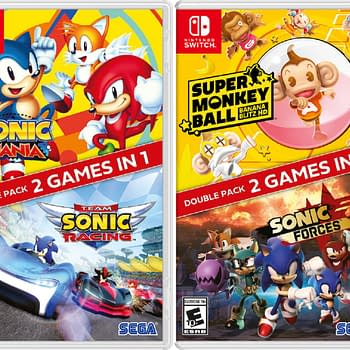 SEGA Reveals Sonic The Hedgehog Double Packs For Nintendo Switch