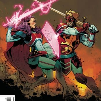The cover to Excalibur #13