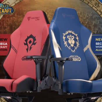 Secretlab & Blizzard Reveal World Of Warcraft Gaming Chairs
