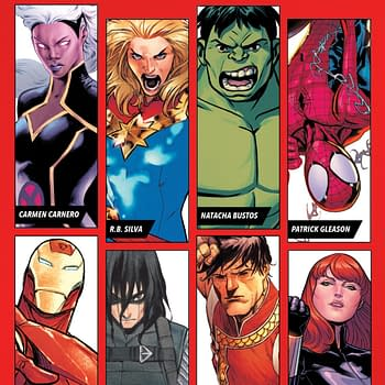 Marvel Unveils Eight Exclusive Artists For Young Guns Stormbreakers