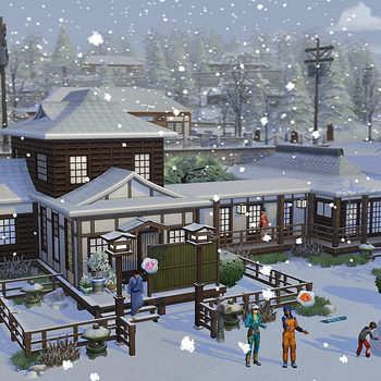 The Sims 4 Announces Snowy Escape Expansion Pack