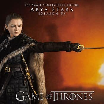 Game of Thrones Arya Stark Season 8 Figure Lands at threezero