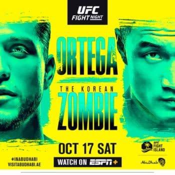 UFC Fight Island 6: Can The Korean Zombie Slay Brian Ortega?