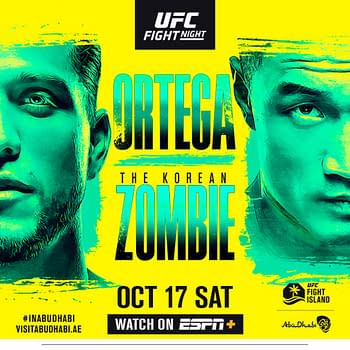 UFC Fight Island 6: Can Brian Ortega Slay The Korean Zombie