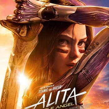 A New Alita: Battle Angel Poster Has Dropped for the Rerelease