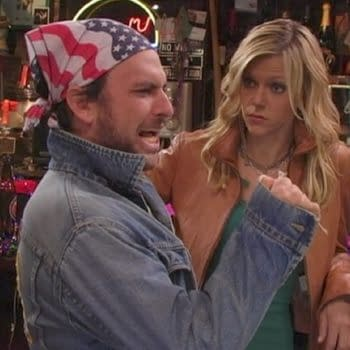 Charlie goes all USA in It's Always Sunny in Philadelphia (Image: FX Networks)