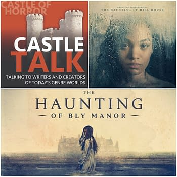 The Haunting of Bly Manor Poster and Castle Talk logo used by permission.