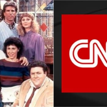 CNN was called out by Kirstie Alley over its COVID coverage. CNN wasn't having any of it. (Images: CNN/NBCU)