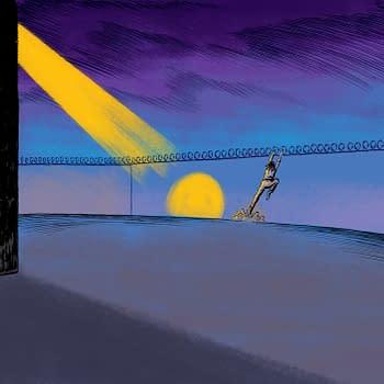 Benjamin Marras Artwork For Ho Che Andersons New Novella Rizzo