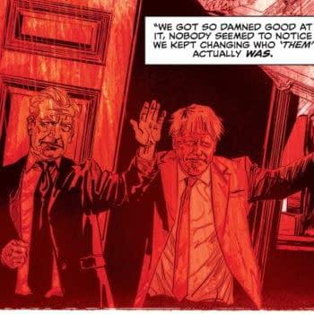 Hellblazer and Si Spurrier On Quoting Boris Johnson