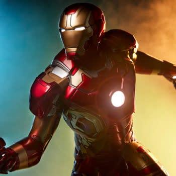 Iron Man Mark XLIII Armor Statue Arrives at Sideshow