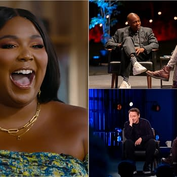 My Next Guest Previews Letterman Talks w/ Downey Jr. Lizzo Chappelle