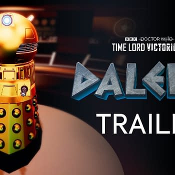 Doctor Who Daleks Tries Avoiding Extermination on November 12