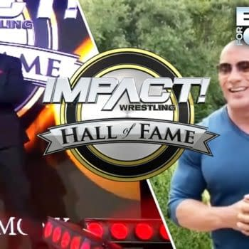 Watch The Rock Induct Ken Shamrock Into the Impact Hall of Fame