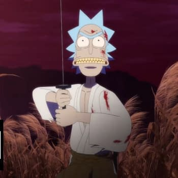Rick and Morty: Samurai &#038 Shogun Early Designs Enjoy Some Wub-Step