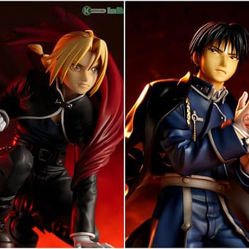 Fullmetal Alchemist Statues are Back from Kotobukiya