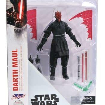 "Star Wars Darth Maul Diamond Select Toys 7"" Figure Hits ShopDisney"