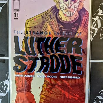 The Strange Talent Of Luthor Strode #1 Sells Copies for $150 on eBay