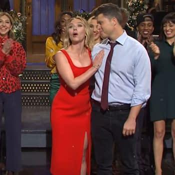 SNL Weekend Updates Colin Jost Actor Scarlett Johansson Tie Knot